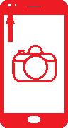 iPhone 5S selfie camera vervangen Image